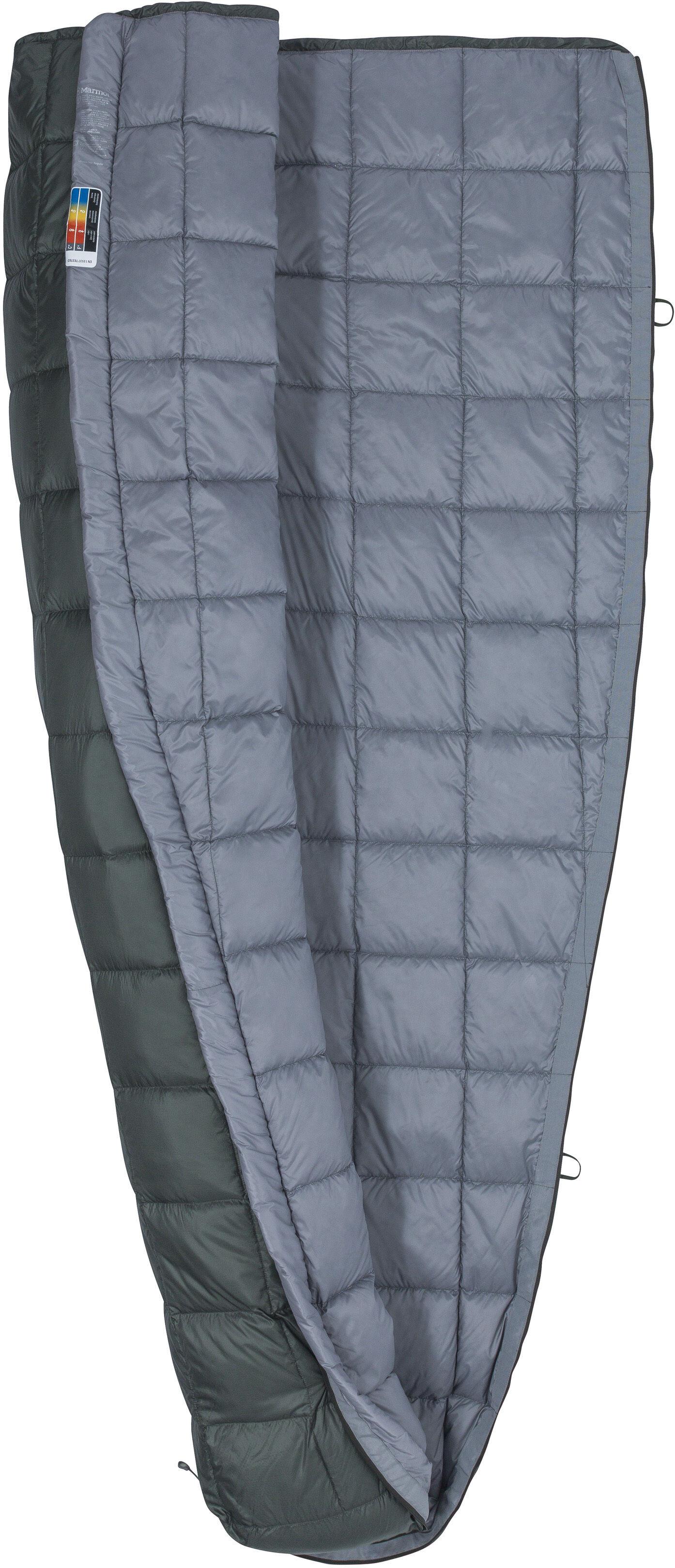 Marmot Micron 50 Sleeping Bag Regular Crocodile/Grey Storm ...